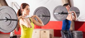 weight training squats